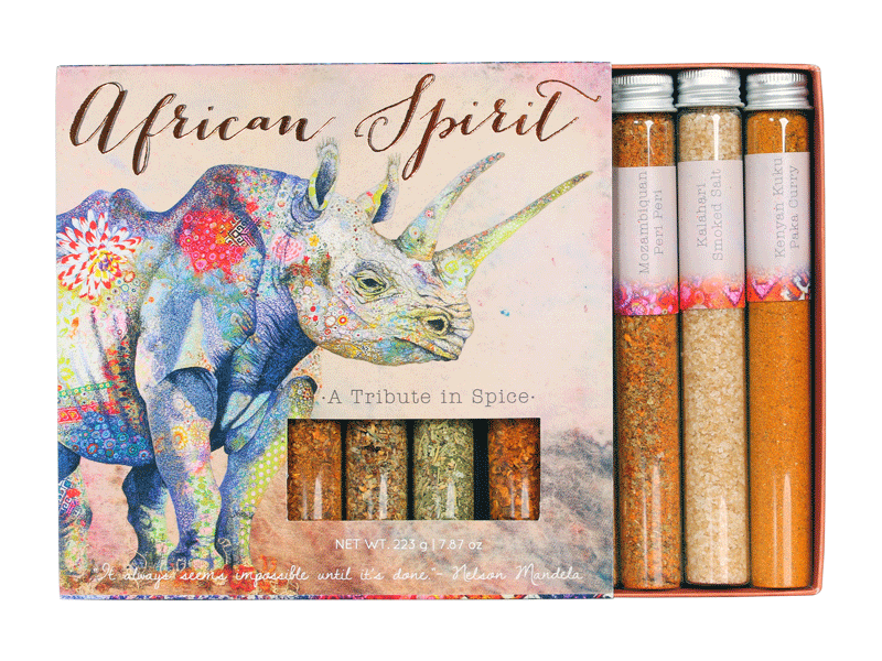 AFRICAN SPIRIT 8-TUBE COLLECTION