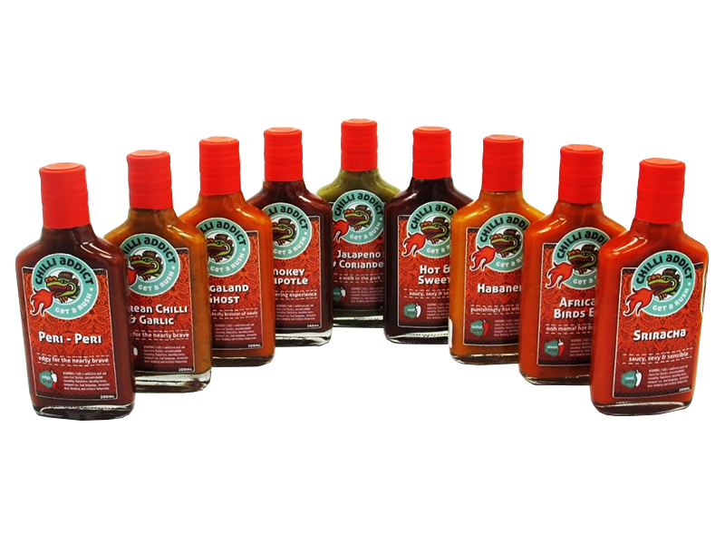 CHILLI ADDICT SAUCE RANGE