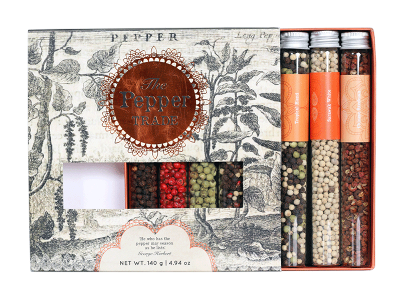 THE PEPPER TRADE 8-TUBE