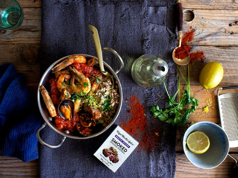 SEAFOOD STEW WITH ANCIENT GRAIN MEDLEY & GREMOLATA2