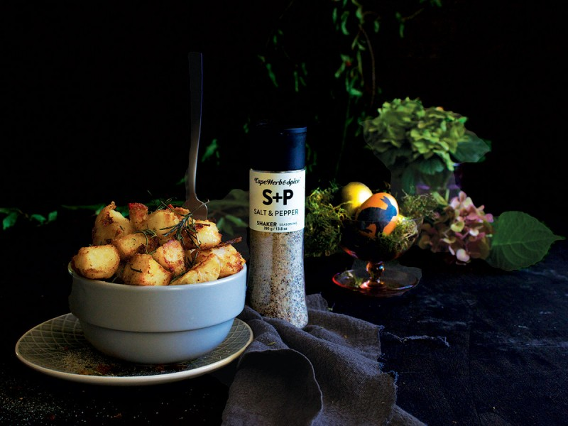 (F)EASTER #3: ULTIMATE S&P ROAST POTATOES