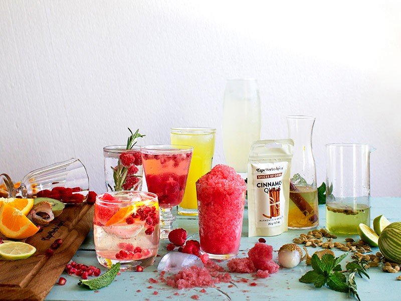 SPICED SUMMER COOLERS