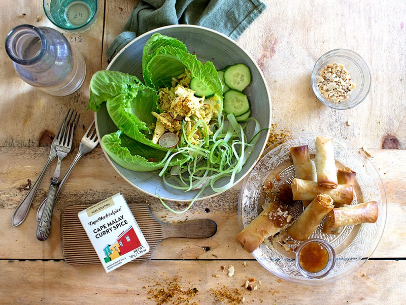 CORONATION CHICKEN - 2 WAYS