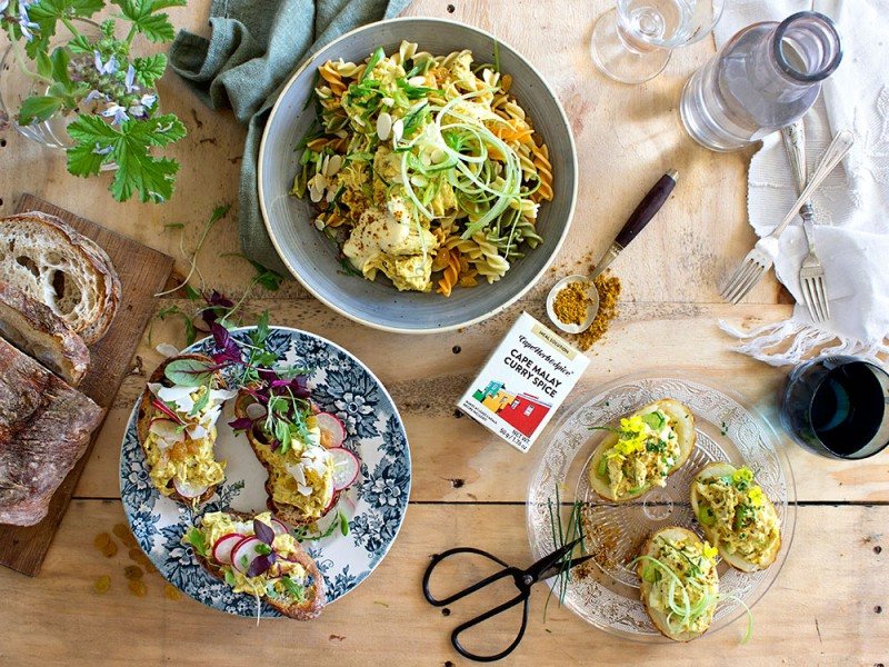 CORONATION CHICKEN - 3 WAYS