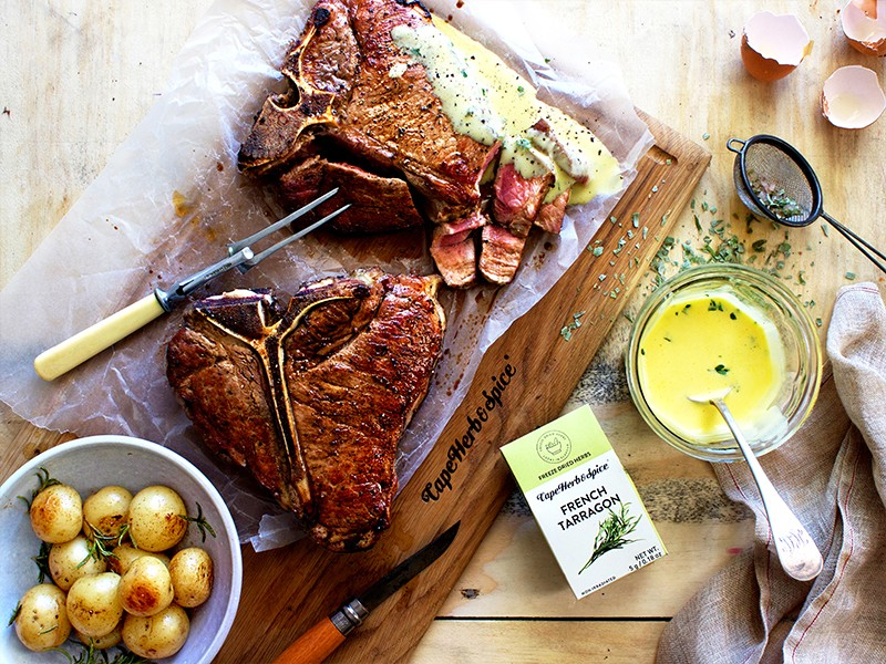 EASTER FEASTER PART 4: T-BONE WITH BEARNAISE
