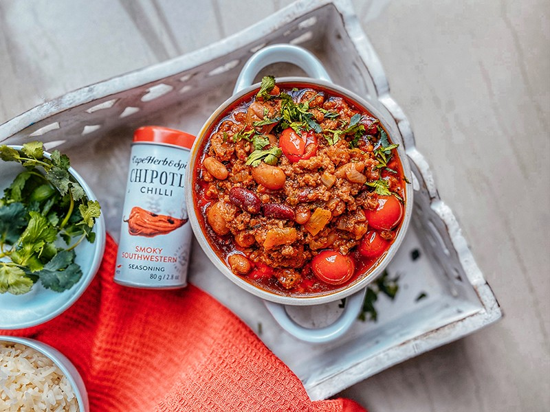 CHIPOTLE CHILLI CON CARNE