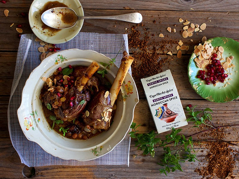 FRUITY MOROCCAN LAMB SHANKS