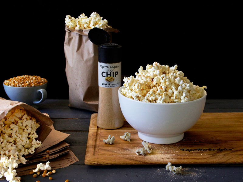 Cheap-as-Chips DIY Microwave Popcorn in a Bag
