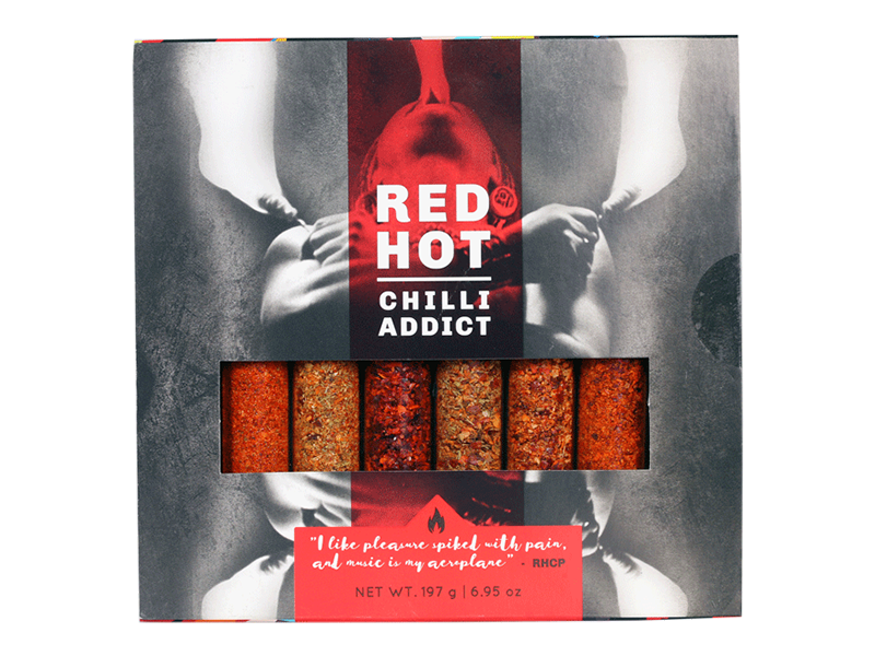RED HOT CHILLI ADDICT 8-TUBE