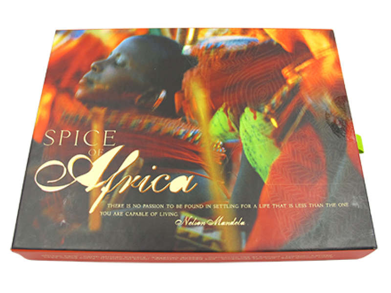SPICES OF AFRICA SLIDE BOX