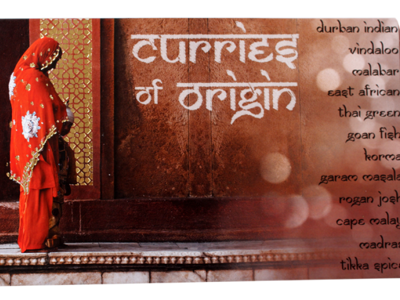 CURRIES OF ORIGIN SLIDE BOX