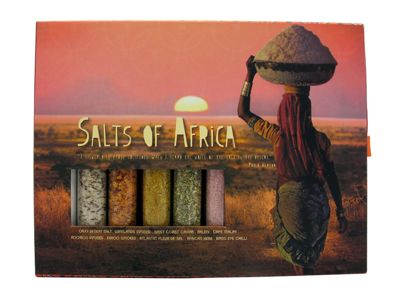 SALTS OF AFRICA SLIDE BOX